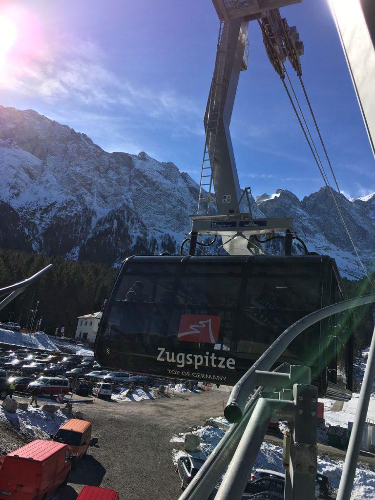 Zugspitze: Seilbahn