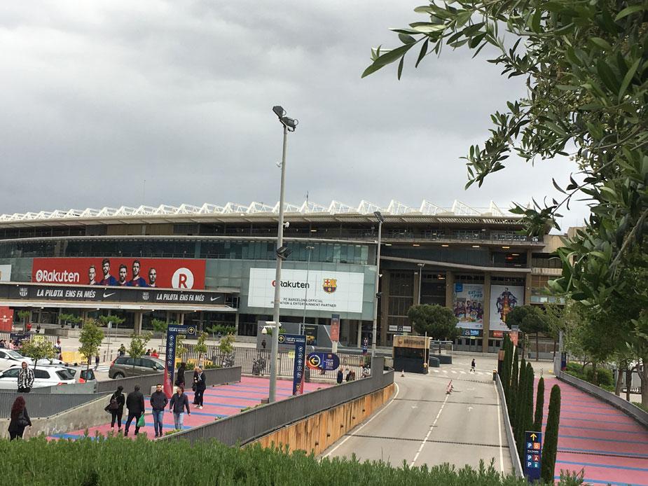 Das Camp Nou - Heimstätte des FC Barcelona
