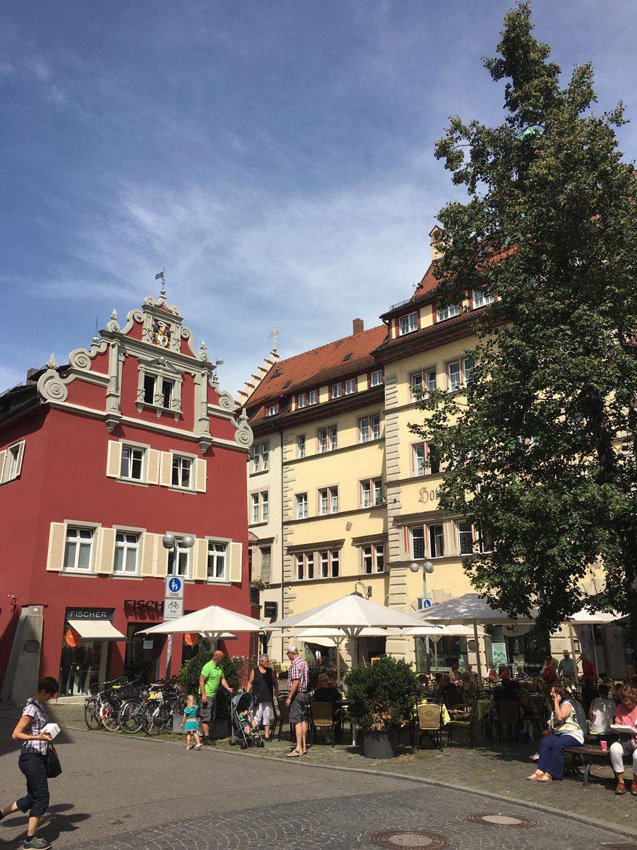 Altstadt Cafes in Konstanz