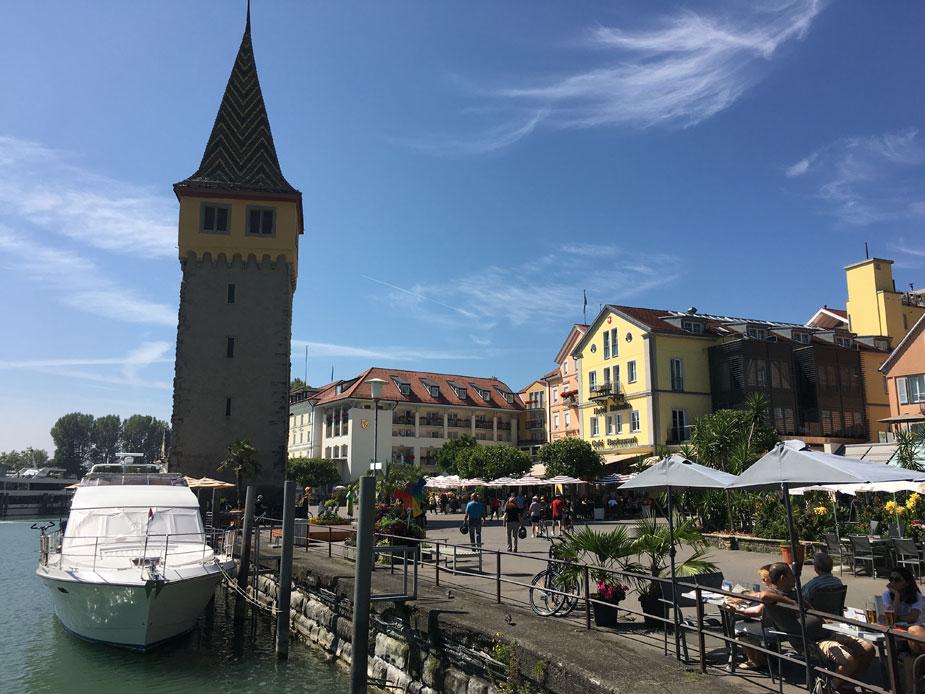 Der Mangturm am Lindauer Hafen