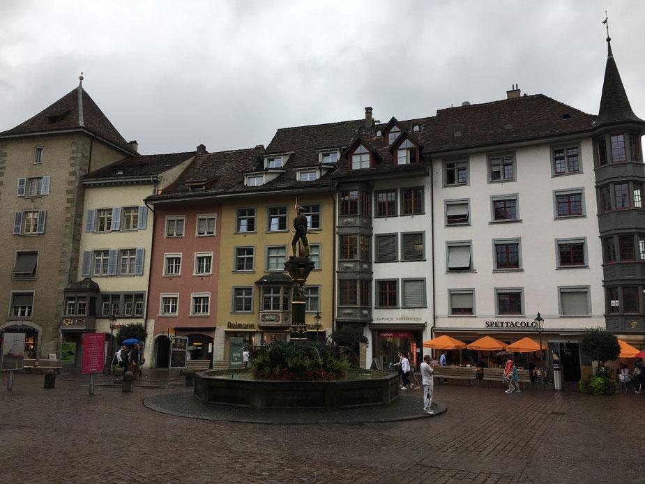 Erkerstadt Schaffhausen