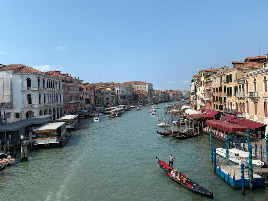 Canale Grande – der Boots-Highway in Venedig