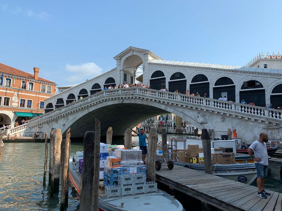 Rialto Brücke – bereits 1591 eröffnet
