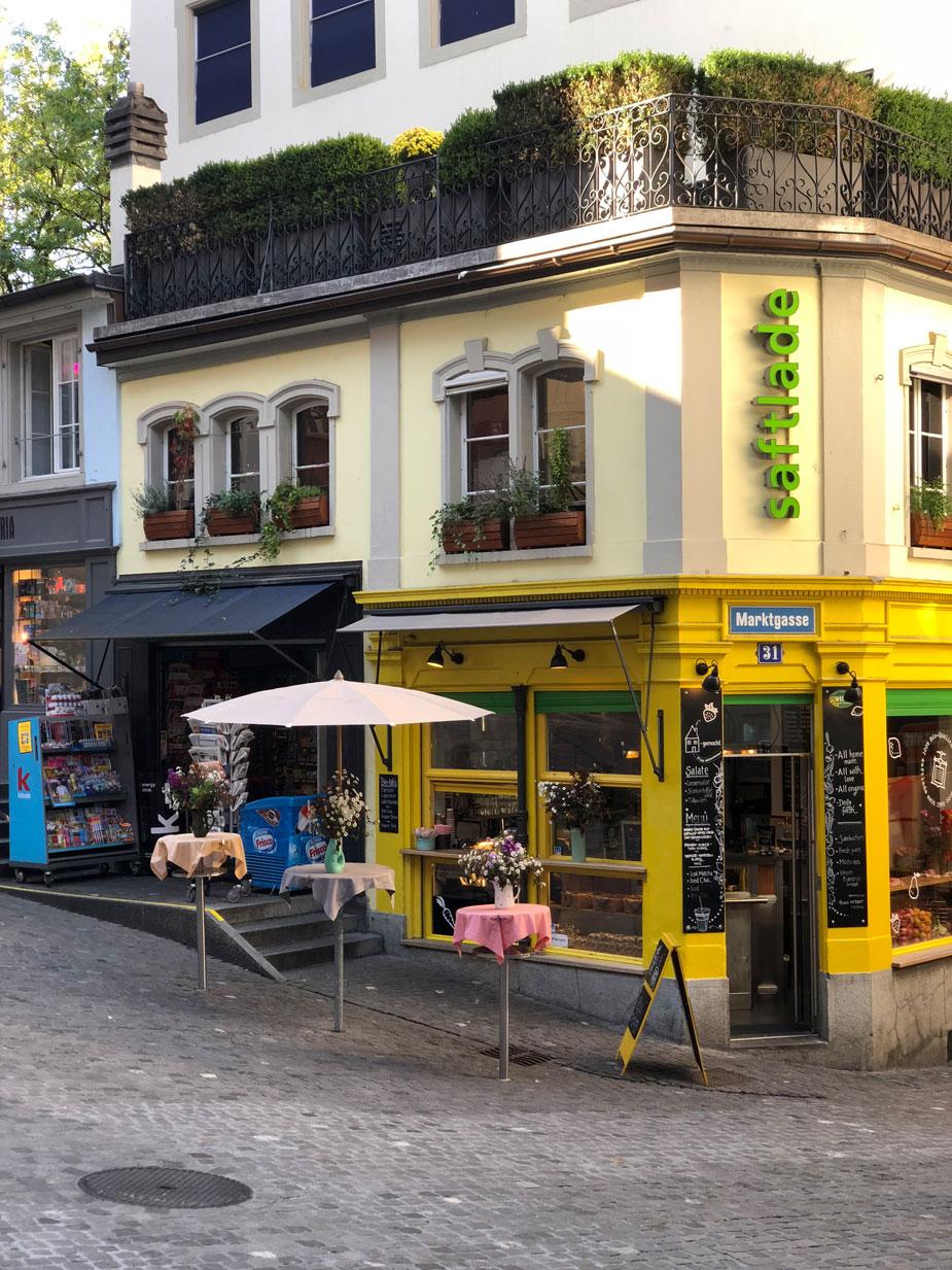 Die Züricher Altstadt