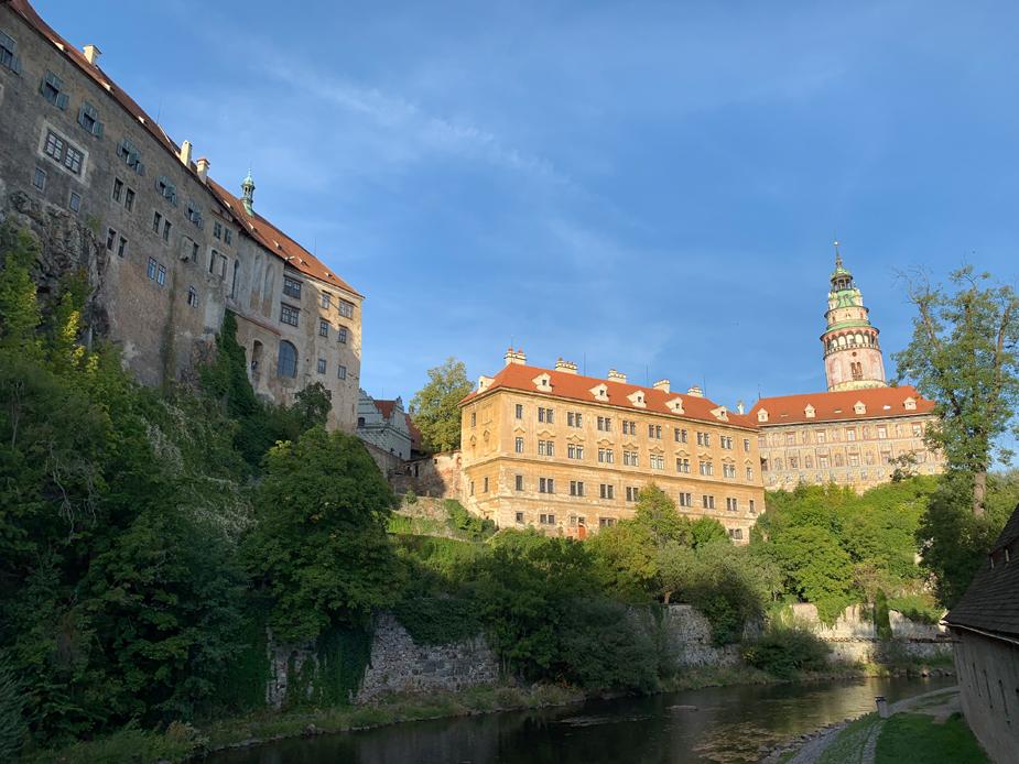 Das Schloss in Cesky Krumlov