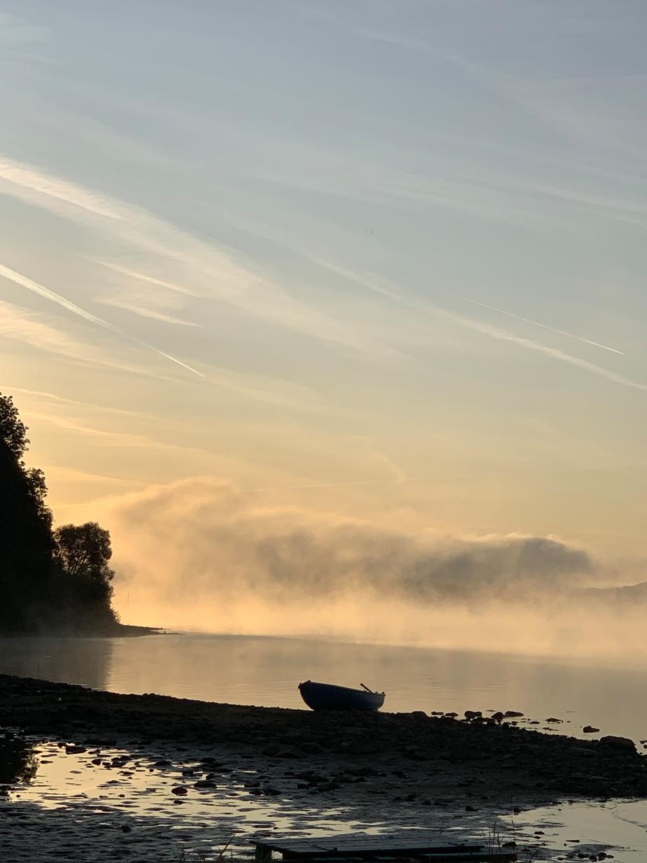 Morgennebel - manchmal lohnt sich das frühe Aufstehen