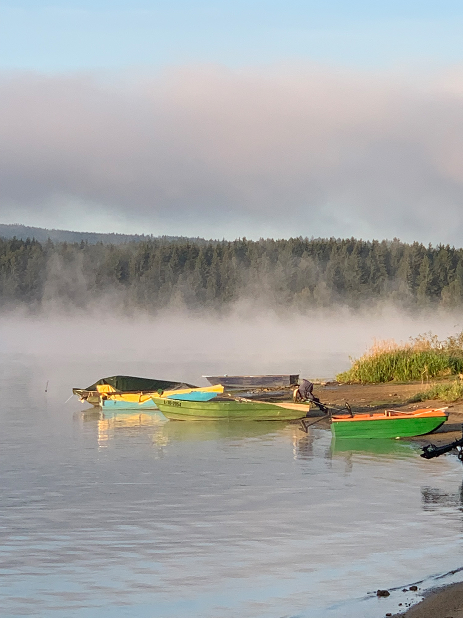 Ein Fischer-Paradies