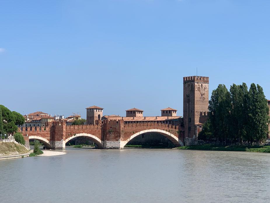 Castelvecchio - faszinierende Burganlage