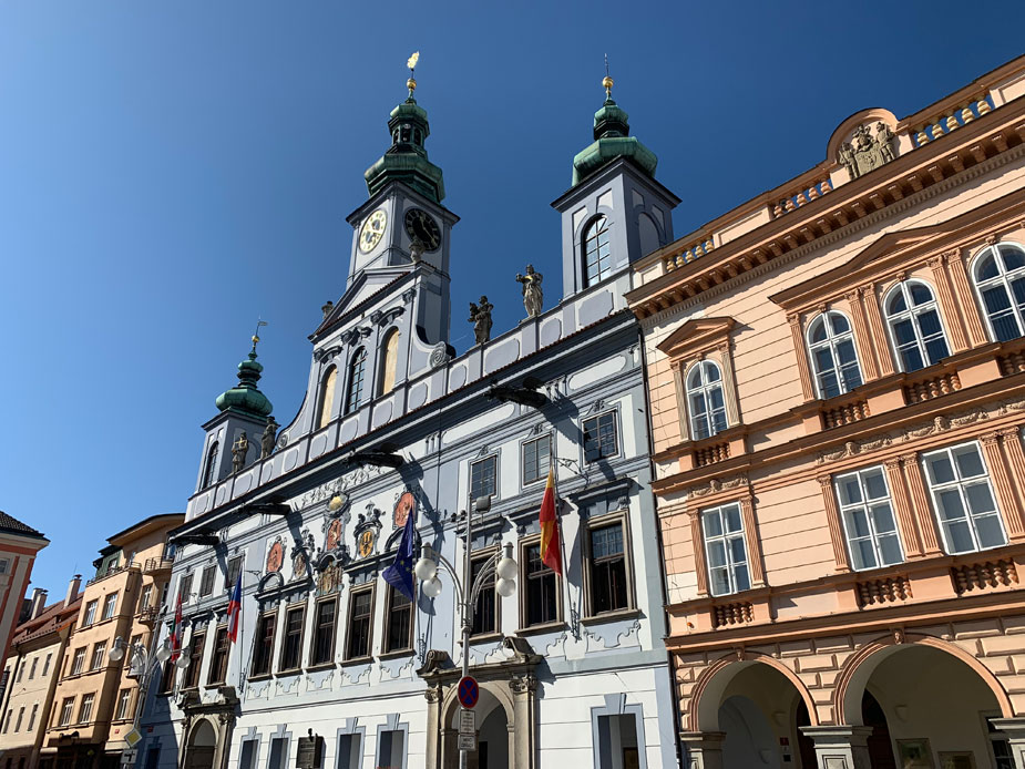 Der Přemysl-Otakar-II Platz