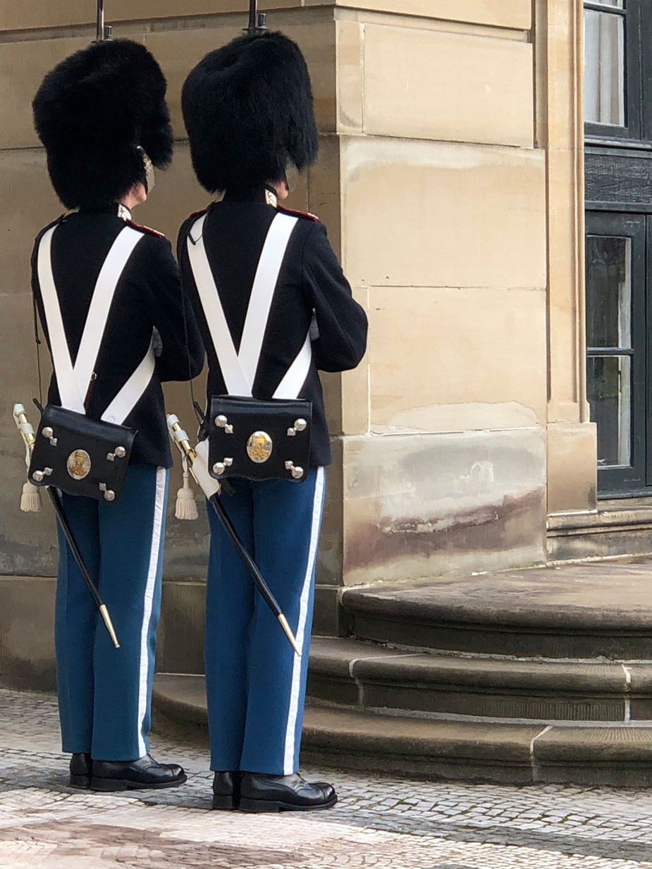 Schloss Amalienborg - Wachablösung