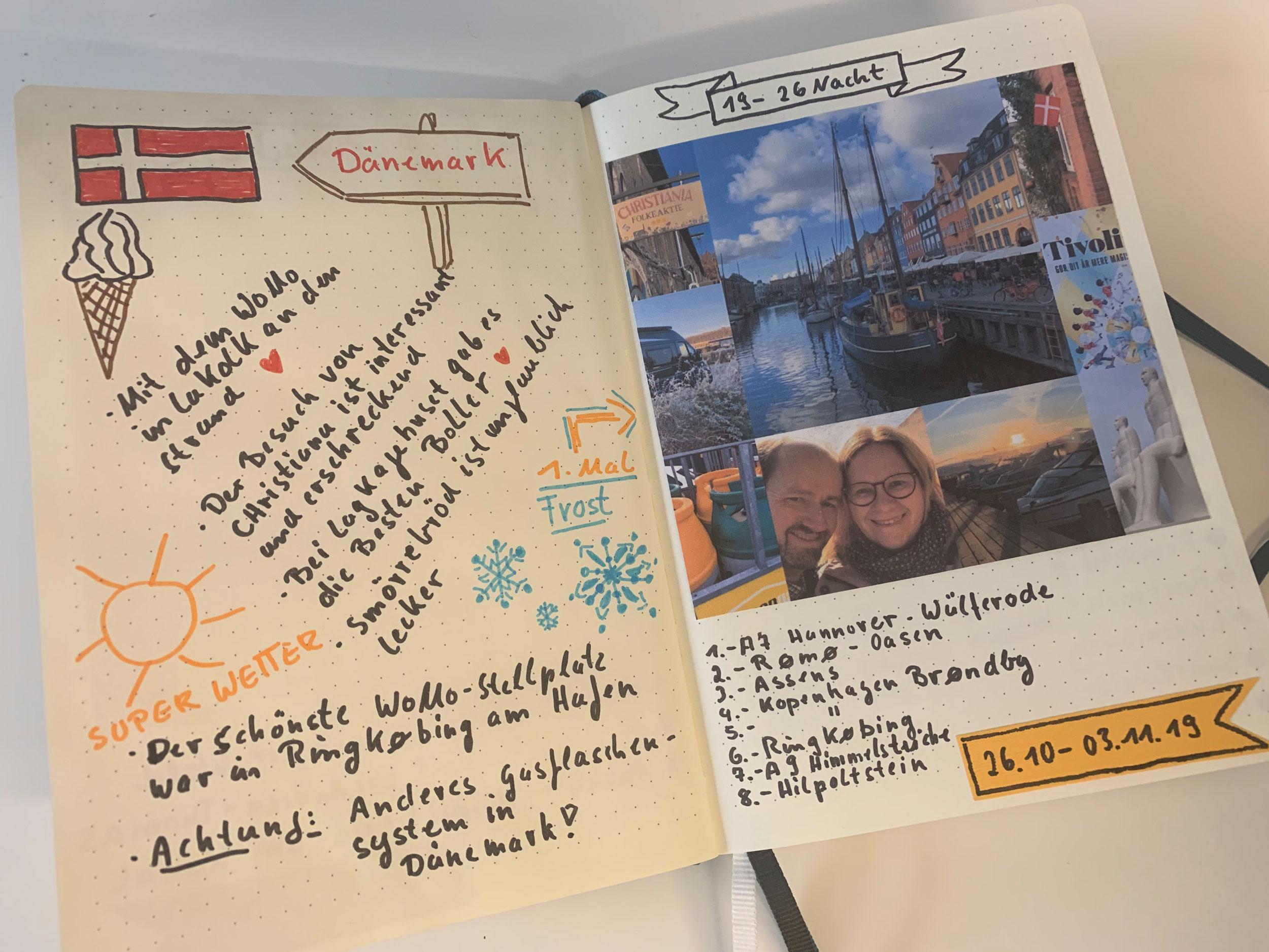 Unser Reisetagebuch