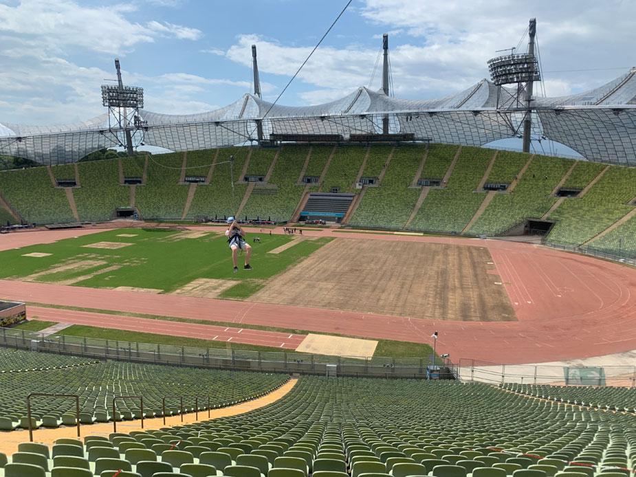 Zeltdachtour Olympiastation