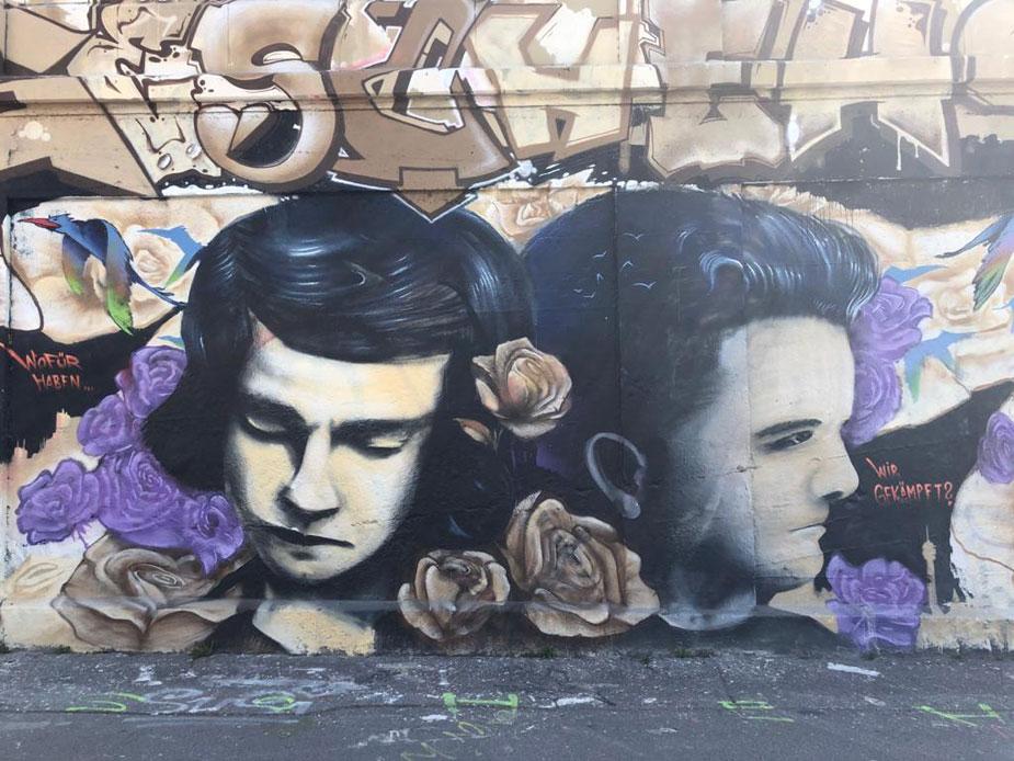 Graffitikunst in München