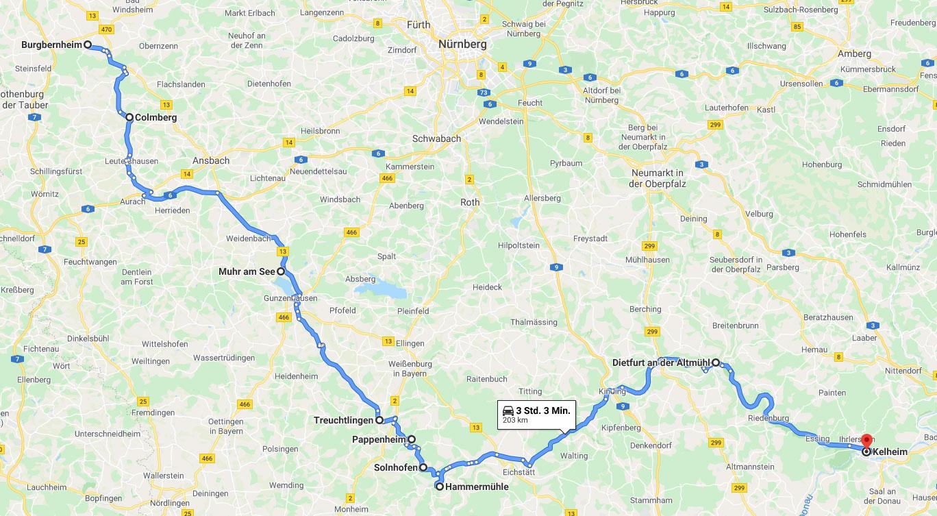 Altmühltal Tour