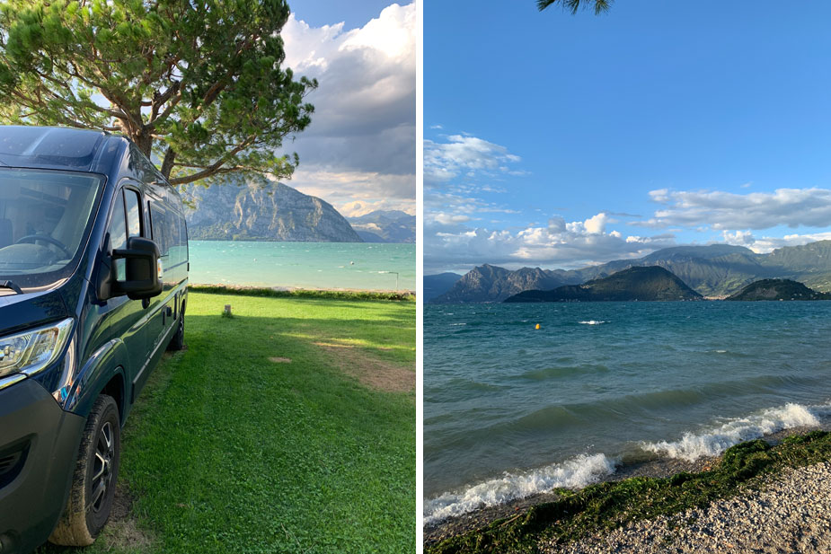 Campen am Lago d´Iseo